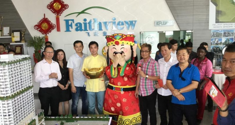 CNY Open House in Faithview HQ