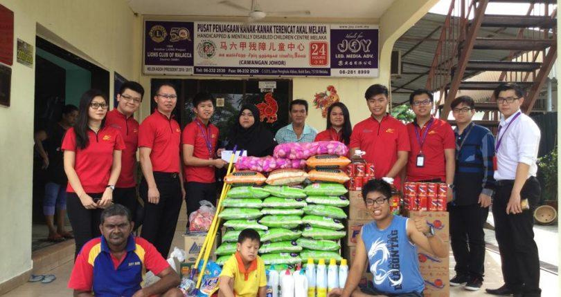 APG Melaka Charity Activities 2017